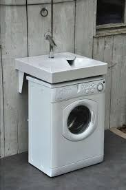 lavabo gain de place sur machine à laver