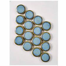Home Depot Merola Penny Tile by Merola Tile Hudson Penny Round Marine Porcelain Mosaic Tile 3 In