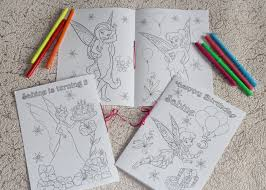 Tinkerbell Coloring Activity Book PDF File