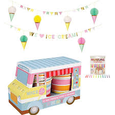 100 Ice Cream Truck Party Amazoncom Disposable Birthday Supplies