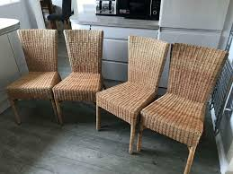 4 X Wicker Chairs - Ideal For A Table | In Balderton, Nottinghamshire |  Gumtree Wicker Ding Room Chairs Sale House Room Marq 5 Piece Set In Brick Brown With By Mfix Fniture Durham Outdoor 7 Acacia Wood Christopher Knight Home Invite Friends And Family To Your Outdoor Ding Space Round Kitchen Table With It Would Be Nice If Solid Bermuda Pc Side Model 1421set1 South Sea Rattan A Synthetic Rattan Outdoor Ding Table And Six Chairs 4 High Back 18 Months Old Lincoln Lincolnshire Gumtree Amazoncom Direct Pieces Allweather Sahara 10 Seat Teak Top Kai Setting