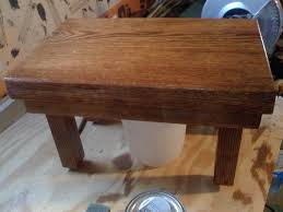 how to make a small wood stool 11 steps with pictures