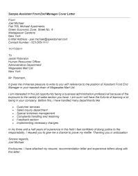 Cover Letter For Front Desk Officer by Unique How Do You Close A Cover Letter 96 For Your Cover Letter