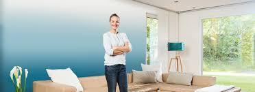 ombré farbverlauf im wohnzimmer inspiration wagner