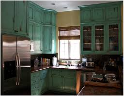 Shabby Chic Cabinets In Coronado Island Painter Genie Throughout Kitchen Plans 28