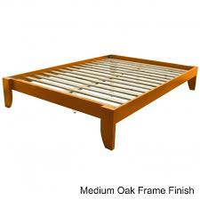 Alsa Queen Platform Bed by Enhance Your Bed With A Queen Size Platform Bed Frame Home Decor 88