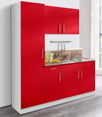 wiho küchen küchenblock kiel breite 190 cm mit 28 mm starker arbeitsplatte tiefe 50 cm