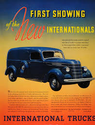 Old International Trucks | ... Vintage Art 1937 Ad Vintage Blue ... 1938 Intertional Harvester D30232 Truck The Kirkham Collection Old Parts Vintage Trucks Gary Alan Nelson Photography 1937 D30 1 12 Ton 04 Intertional 4300 Dt466 Diesel Alinum Bed Service Utility Lube Jims Photos Of Classic Jims59com Sold It Chevrolet Panel Delivery Ton 37 Chevy Truck Scout Pluss Ihc And Pickup Tractor Cstruction Plant Wiki Fandom D2 Six American Classiccarweeklynet