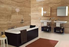 modern luxury bathroom ideas with white porcelain floor tile and