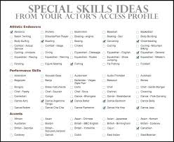 Special Skills To List On A Resume