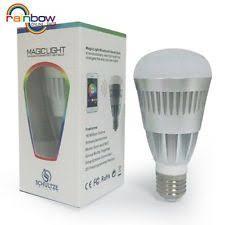 magiclight pro bt bluetooth smart led light bulb smartphone