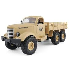 100 Rc Trucks For Sale Jjrc Q60 116 24g 6wd Offroad Military Truck Crawler Rc Car