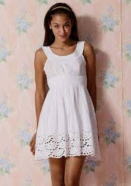 Dresses For Teenage Girls 2014 White Dress Clothes Cute Summer