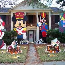 Disney Outdoor Christmas Decorations