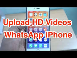 How to Upload HD Video on WhatsApp iPhone