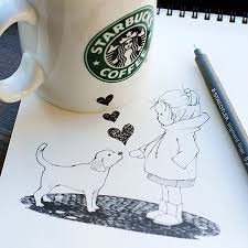 10 Cool And Creative 3D Starbucks Cup Drawings