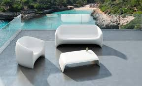 Incredible Modern Patio Furniture White Outdoor Interior Design