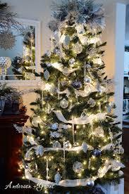 Winter Wonderland Decorated Christmas Tree