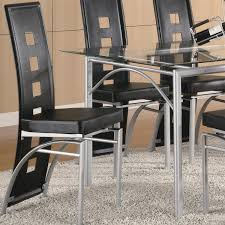 Dinette Sets With Caster Chairs by Metal Dining Room Chairs Provisionsdining Com