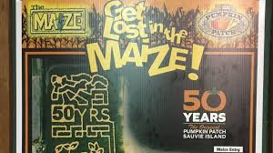 Sauvies Island Pumpkin Patch Corn Maze by Get Lost In The Maize At The Pumpkin Patch On Sauvie Island Katu