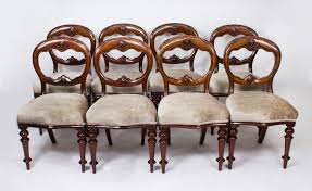 Set 8 Antique Victorian | Ref. No. 08327 | Regent Antiques Antique Victorian Ref No 03505 Regent Antiques Set Of Ten Mahogany Balloon Back Ding Chairs 6 Walnut Eight 62 Style Ebay Finely Carved Quality Four C1845 Reproduction Balloon Back Ding Chairs Fiddleback Style Table And In Traditional Living Living Room Upholstery 8 Upholstered Lloonback Antique French