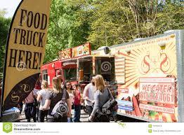 100 Food Trucks Atlanta Sign Promotes Presence Of At Festival
