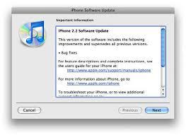 iPhone firmware update 2 2 in 10 days SlashGear