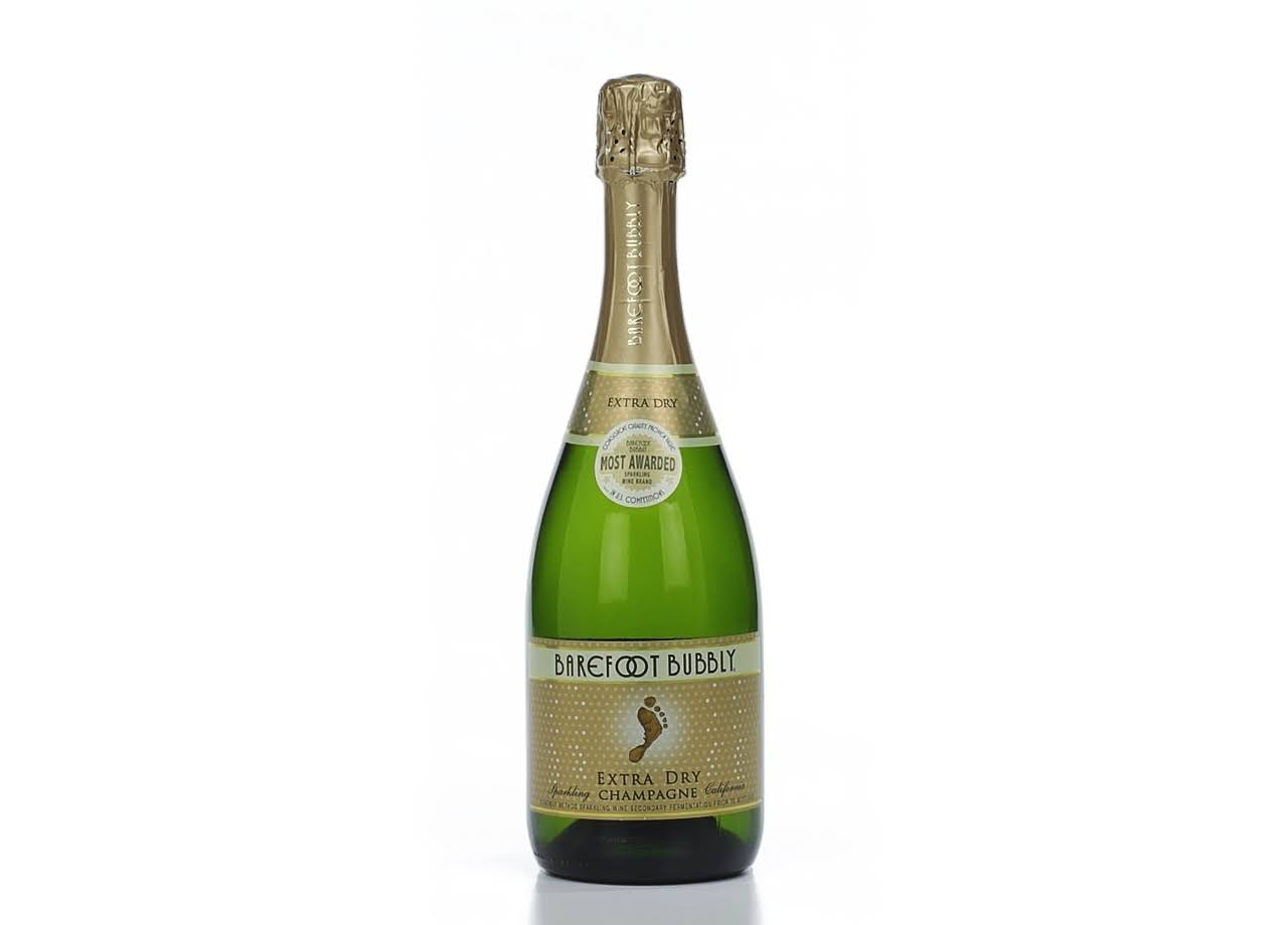 Barefoot Bubbly Champagne - Extra Dry, 750ml