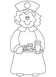 Nursing Coloring Book Picture Gallery Website Nurse