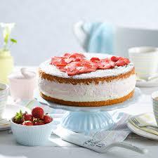 erdbeer sahne torte rezept backen de