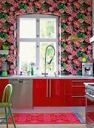 Kitchen Decor Ideas With Beautiful Wallpapers