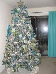 Teal Christmas Tree Decorating Ideas