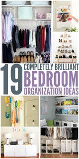 19 Bedroom Organization Ideas TipsApartment Closet