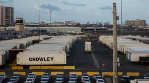 In Puerto Rico, Containers Full Of Goods Sit Undistributed At Ports ... Crowley Six Months After Hurricane Maria Puerto Ricos Road To Crowleylershippinglogiscostaricabanafarm Long Haul Truck Traveling On Inrstate 80 Near Lovelock Nevada A C E Courier Services Opening Hours 760 Ave Kelowna Bc Sees 23 Billion Military Contract As Test Of Logistics Assists Power Restoration In Vieques Aid Rico Oxfordshire Truck Photoss Favorite Flickr Photos Picssr Crowleyshipptrucking Bah Express Home