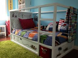 Svarta Bunk Bed by Ikea Bunk Beds Painted Green Paint Bed Frame Shabby Chic