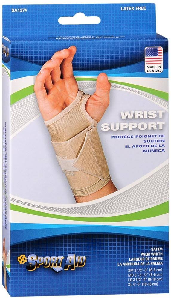 Sport-Aid Wrist Support, Left, Medium