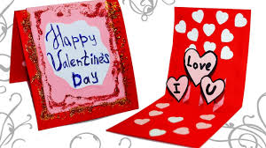 Valentine Day Greeting Card Best Of Diy Paper Crafts Easy Making Ideas For