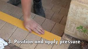 Stair Nosing For Vinyl Tile by How To Install Frp Stair Nosing Youtube