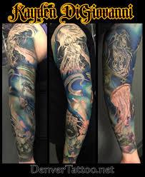 Denver Sleeve Tattoo
