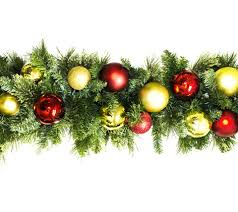 Royal Douglas Fir Artificial Christmas Tree by Wl Garbm 09 Rg Lww 9 U0027 Pre Lit Warm White Led Blended Pine Garland