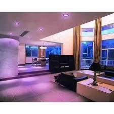 16W 124 LED Side Pink Square Ceiling POP Panel Light 3D