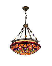 Tiffany Style Lamp Shades by Colorful Tiffany Style Pendant Lamp With Turtle Shell Pattern
