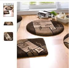 grund badematten teplitz wc vorleger duschmatte braun matten rund halbrund neu ebay