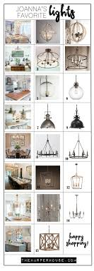 joanna s favorite light fixtures for fixer style the