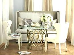 Upholstered Bench For Dining Room Table Tables With