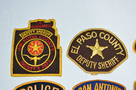El Paso Pumpkin Patch by Texas Police Department Vintage Embroidered Patches Uniform