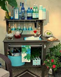 Cheap Patio Bar Ideas by 40 Creative Drink Station Ideas For Your Party 2017