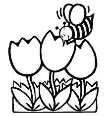 Free Spring Coloring Sheets Printable Pictures Colouring Page Kids