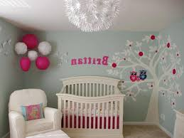Tree Wall Decor Baby Nursery by Newborn Baby Room Decorating Ideas Pink Storange Bench Laminate