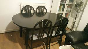 Atemberaubend Black Wood Dining Table Set Dark Round ... Highchairs Booster Seats Eddie Bauer Classic Wood High Double Lounger Patio Fniture Patios Home Decorating Amusing Wooden White Round Dark Sets Black Foldable Ding Chairs 2 18 Choose A Folding Table 2jpg Side Finest Wall Posted In Chair Ashley Floral Accent That Go Winsome Old Simmons Recliner With Attractive Colors Replacement Canopy For Arlington Swing True Navy Garden Winds Padded Gray Metal Folding Chair With 1 Kitchen Small End Tables Beautiful Armchair Western Style Interesting Decor Ideas Editorialinkus